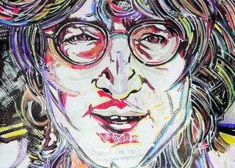 John Lennon - kresba