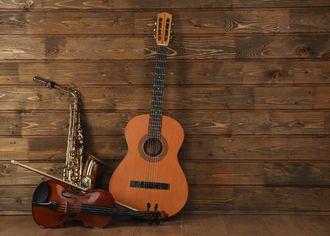 kytara + saxofon