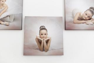 Obrázek baletka - 30x30cm, plátno standard