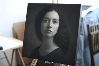 Obrázek Černobílý portrét